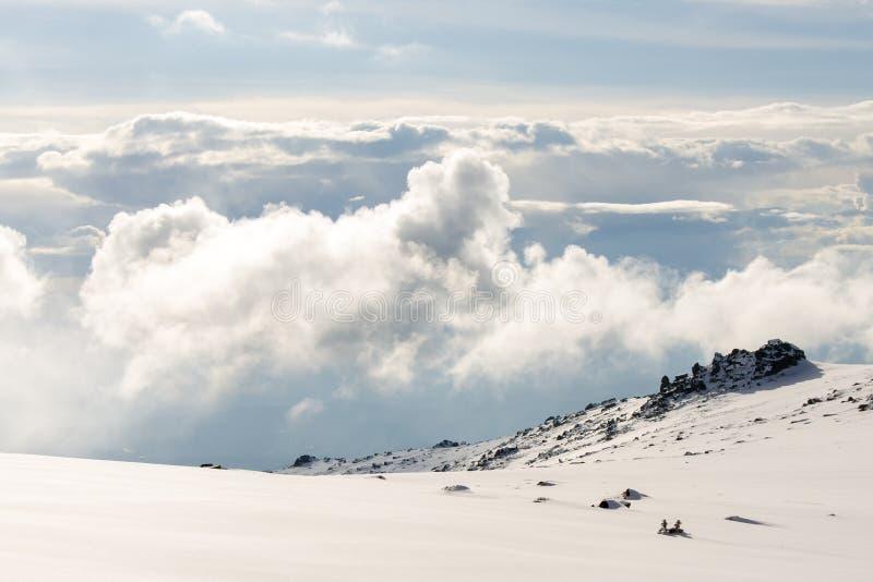 Majestätisches cloudscape stockfotos