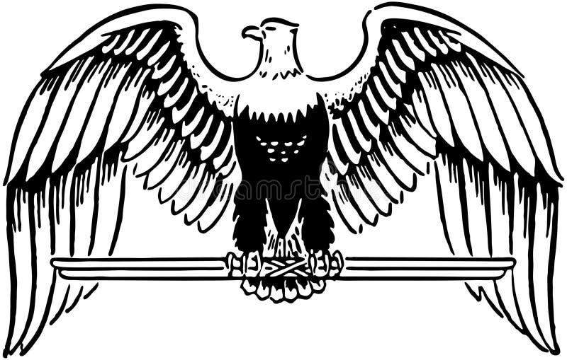 Majestätisches Eagle stock abbildung