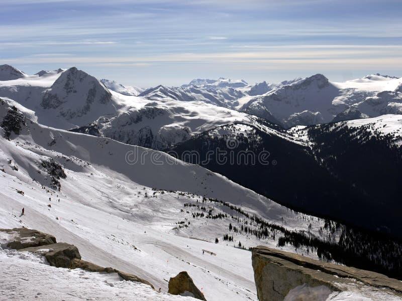 majestätiska berg arkivbilder