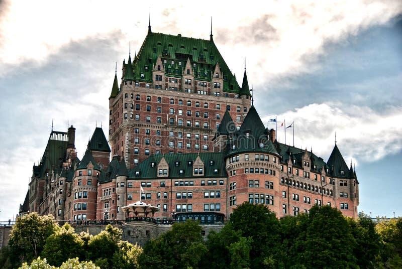 Majesté de Chateau de Frontenac, Quebec City images stock