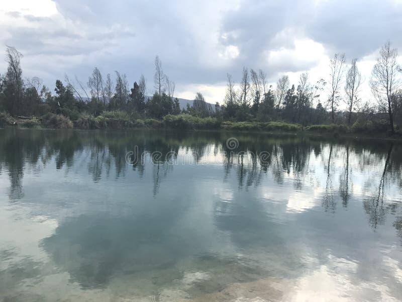 Majestad de la naturaleza, Villa de Leyva, Colombia imagenes de archivo
