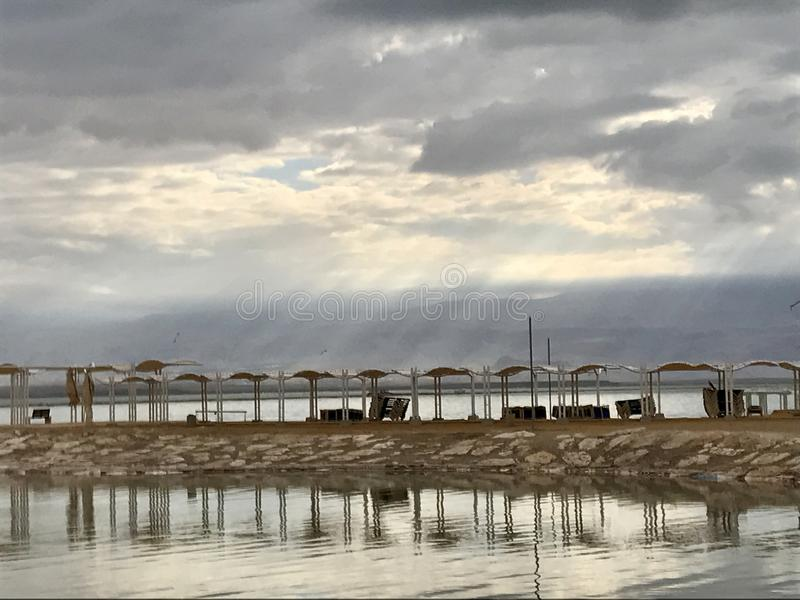 Majestade no Mar Morto fotos de stock