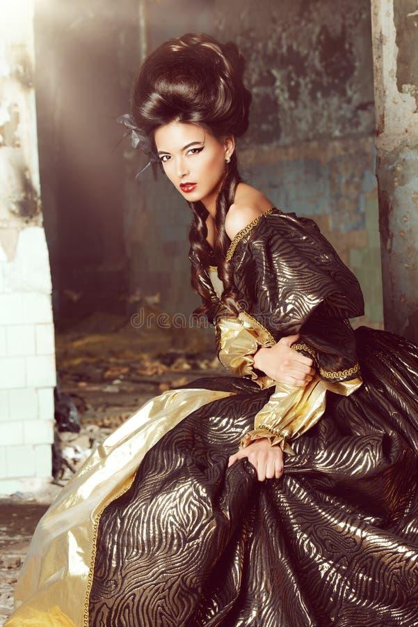 Majestatyczna dama obraz stock
