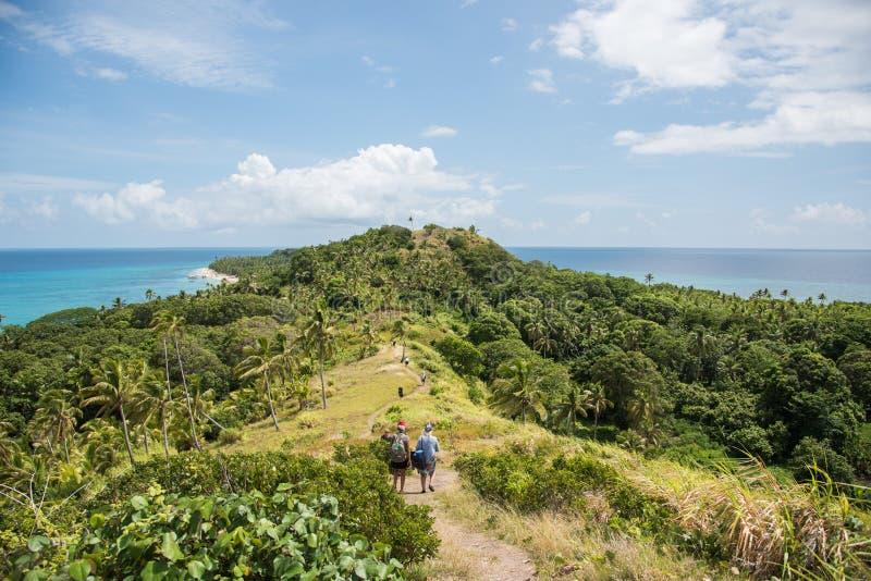 Majestatyczna Dravuni wyspy podwyżka fotografia royalty free