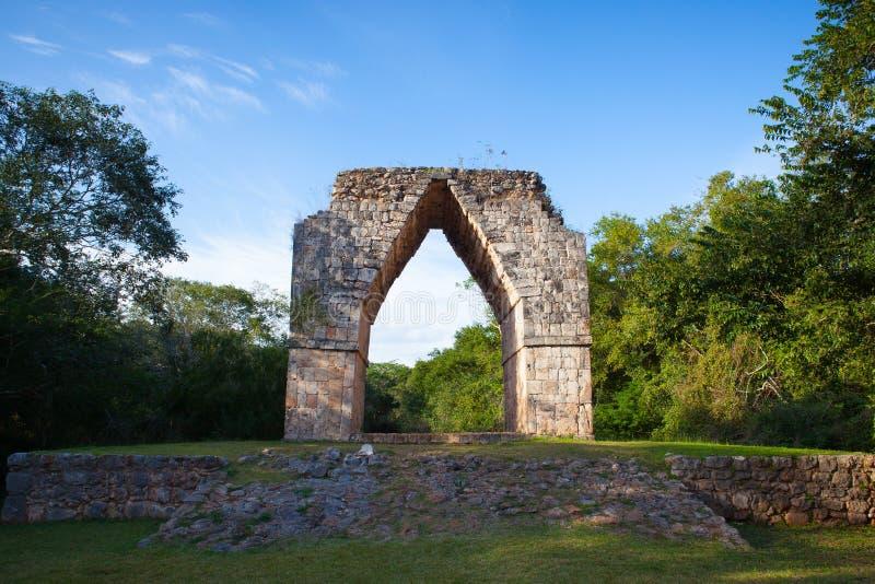 Majestatyczne Kabah ruiny, Meksyk obraz stock
