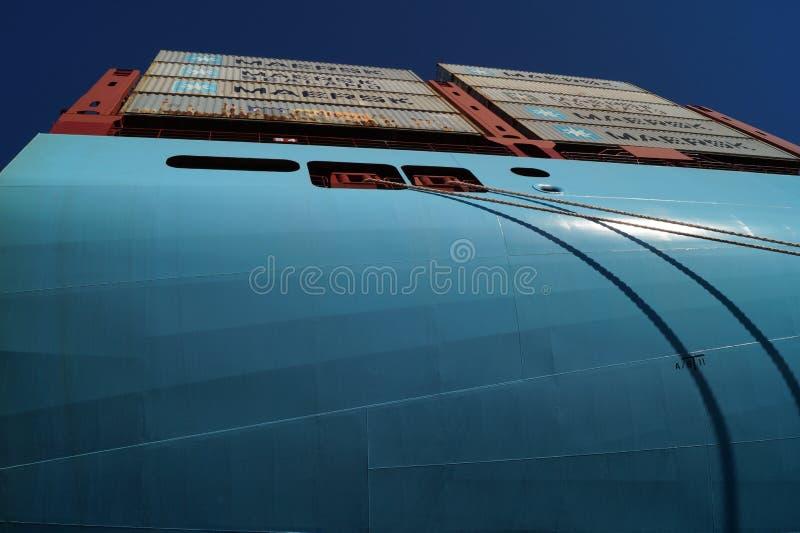 Majestatyczny Maersk obrazy stock