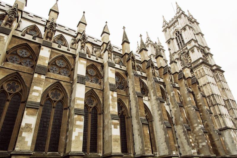Majestatyczny opactwo abbey, Londyn, Wielki Brytania fotografia stock