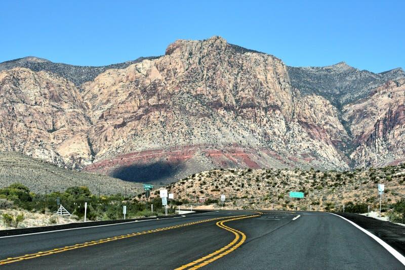 majestatyczny widok górski obrazy stock