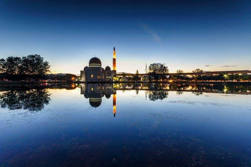 Majestatyczny widok jako ` salam meczet fotografia stock