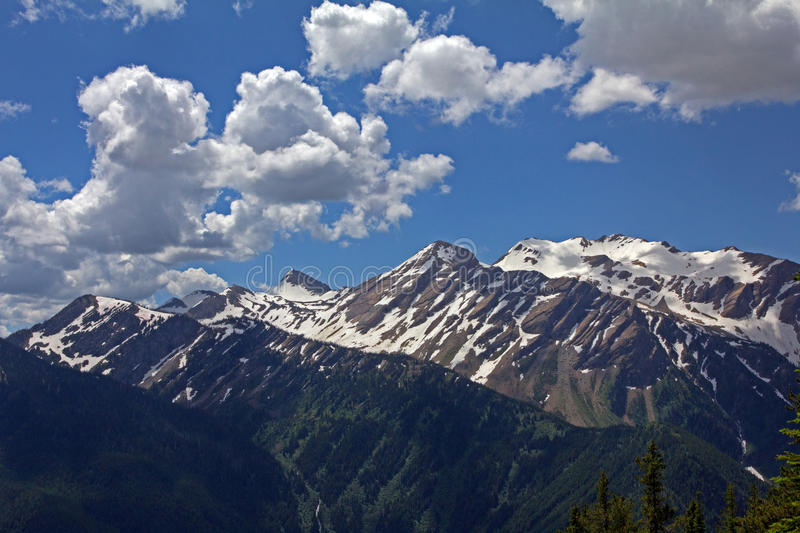 Majestic Great Northern Mountain royalty free stock image