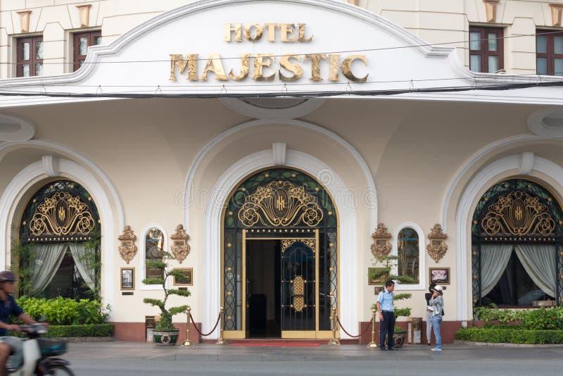 Majestic Hotel stock photos
