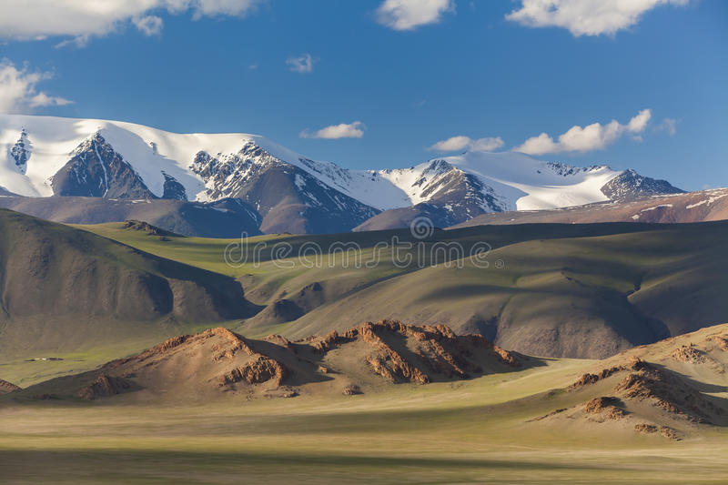 Majestic landscape with a view of the mountain royalty free stock photos