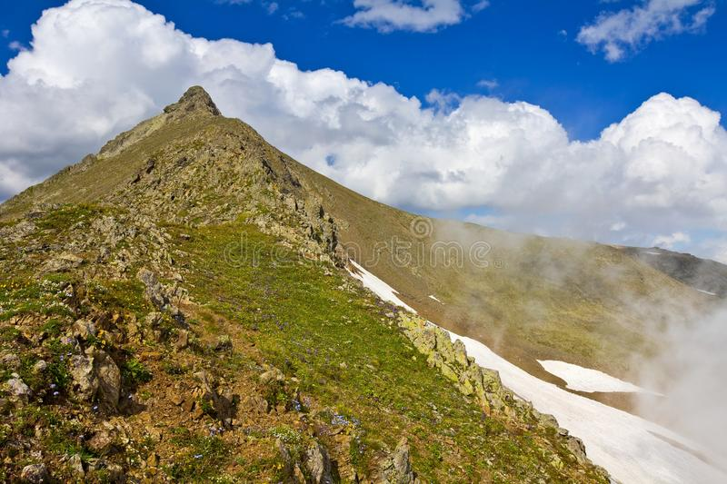 Download Majestic mountain top stock photo. Image of rock, mountains - 26211356