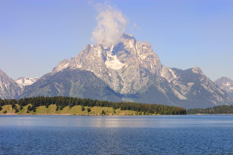 Download Majestic mountains stock image. Image of jackson, daybreak - 15571127