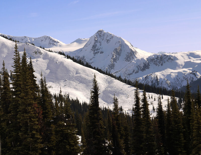 Majestic Mountains Royalty Free Stock Photos