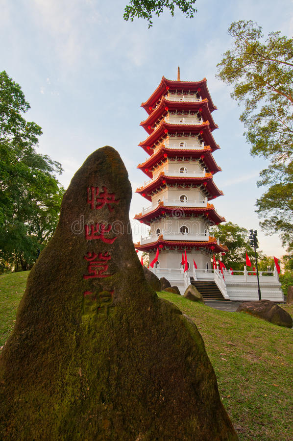Download Majestic Oriental pagoda stock photo. Image of history - 21095266