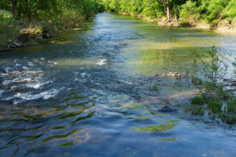 Majestic Roanoke River stock photo