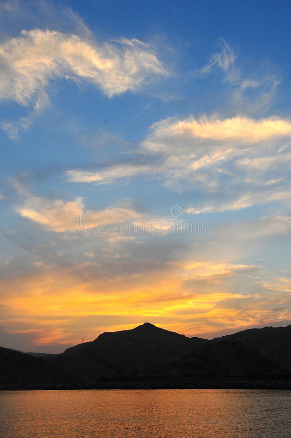 Majestic sky stock photos