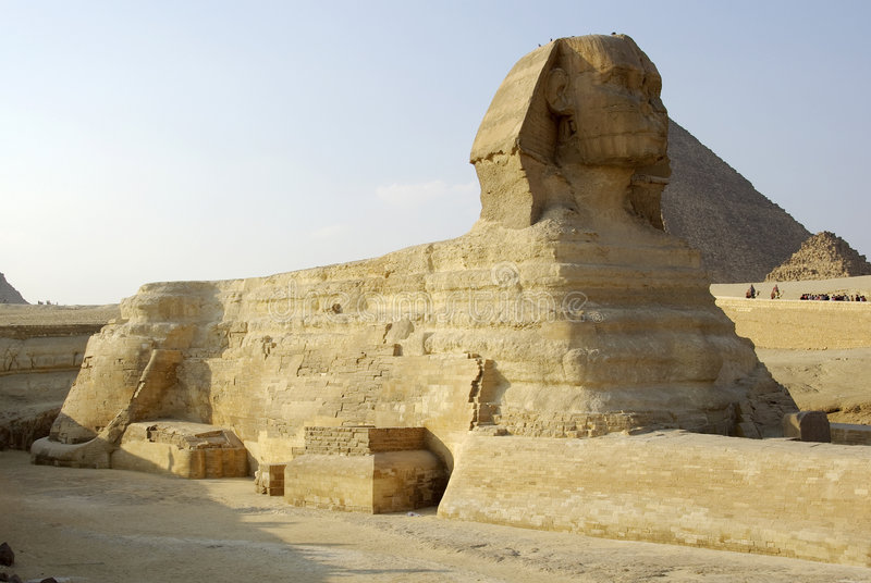 Download Majestic Sphinx stock image. Image of face, antiquities - 7487507