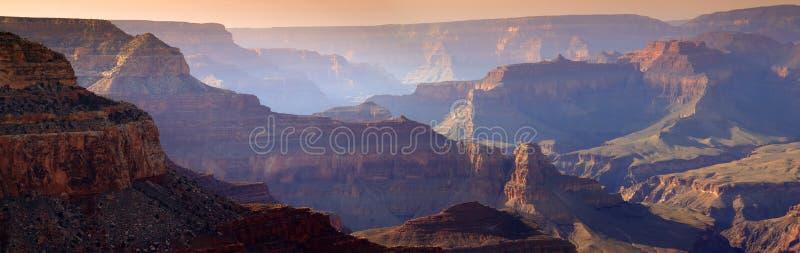 Majestic Sunset South Rim Grand Canyon National Pa Stock Photo