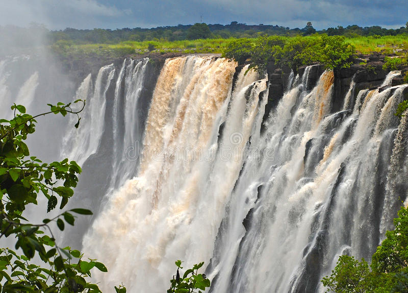 Download Majestic View With Victoria Falls(South Africa) Royalty Free Stock Image - Image: 23190446