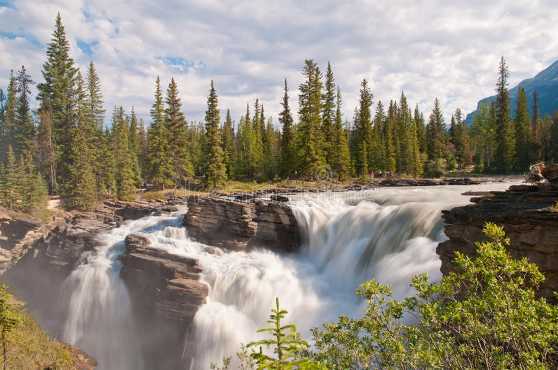 Download Majestic Waterfalls With Forest Stock Image - Image: 22292719