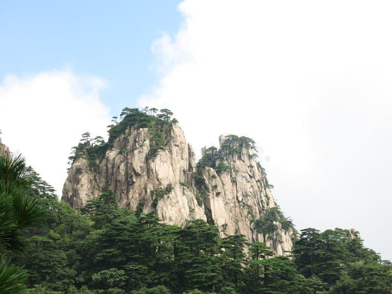 Majestueuze bergen royalty-vrije stock fotografie