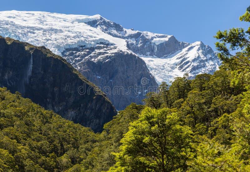 Majestueuze mening van Rob Roy Glacier stock afbeelding