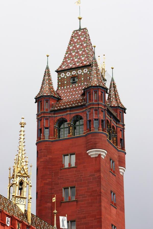 Majestueuze toren royalty-vrije stock afbeeldingen