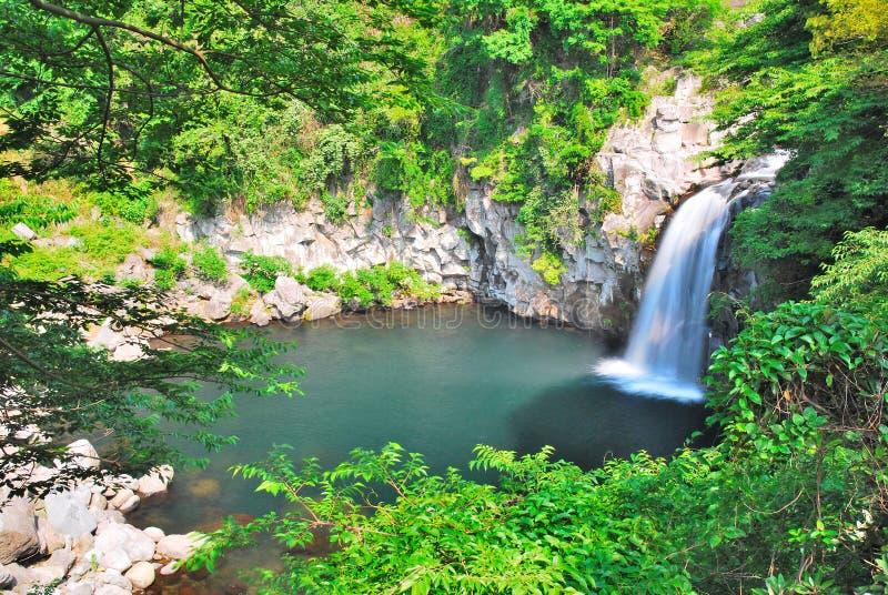 Majestueuze waterval royalty-vrije stock foto