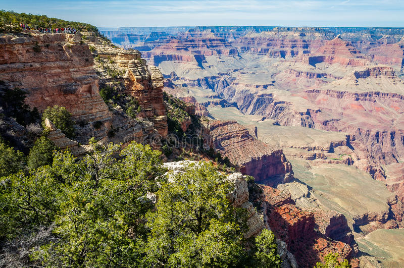 The majesty of Grand Canyon stock images