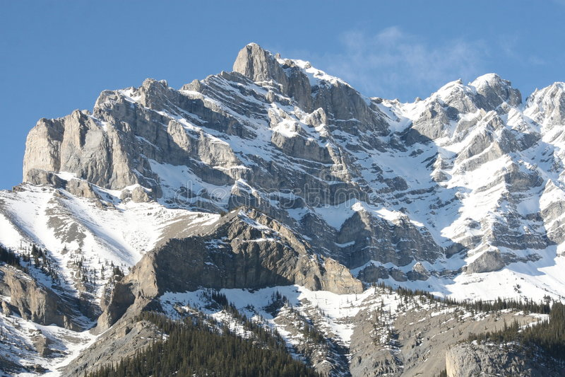 Majesty Of Rocky Mountains, Canada Stock Image