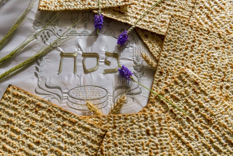 Major attributes of Jewish Passover Seder Holidays royalty free stock image