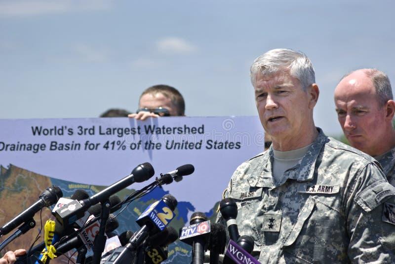 Major. Generator Michael Walsh stockfoto