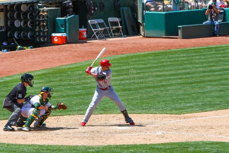 Major League Baseball - όλο το χτύπημα Beltran αστεριών στοκ εικόνες