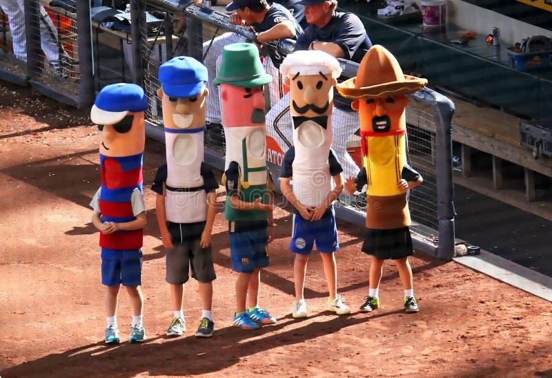 Major League Baseball Action stock images