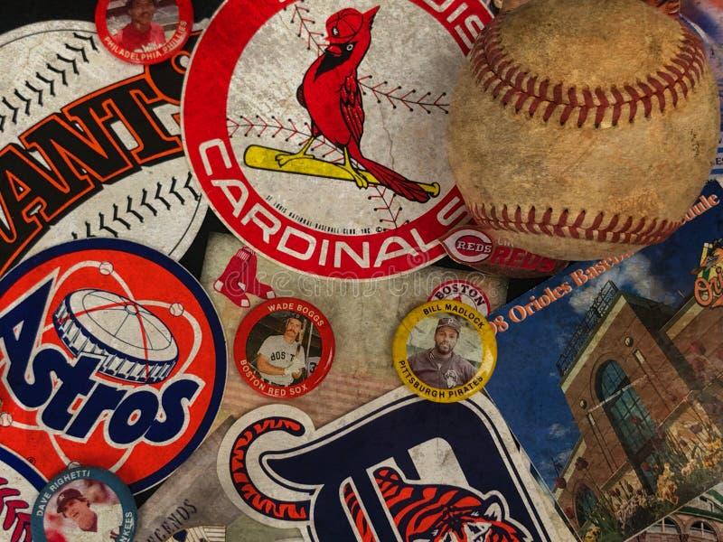 Major League Baseball Stickers arkivbilder