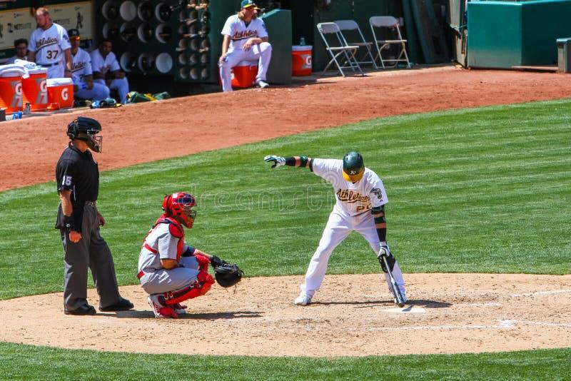 Major League Baseball - Teig bittet um Zeit lizenzfreies stockfoto