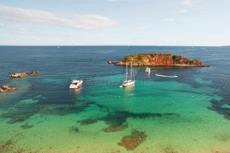 Majorca海滩 库存照片