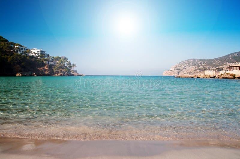 Majorca海滩 免版税图库摄影