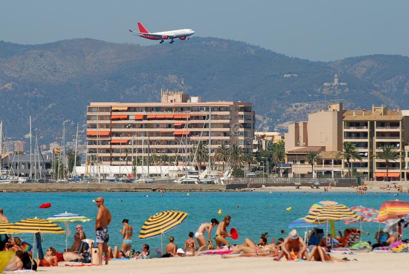 Download Majorca editorial photography. Image of landing, hotel - 21451142