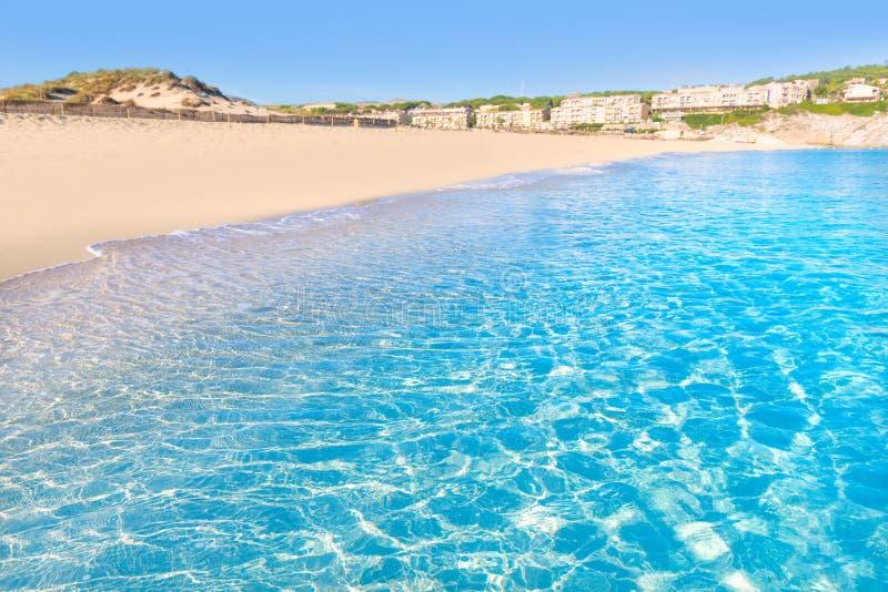 Majorca Cala Mesquida beach in Mallorca Balearic stock photos