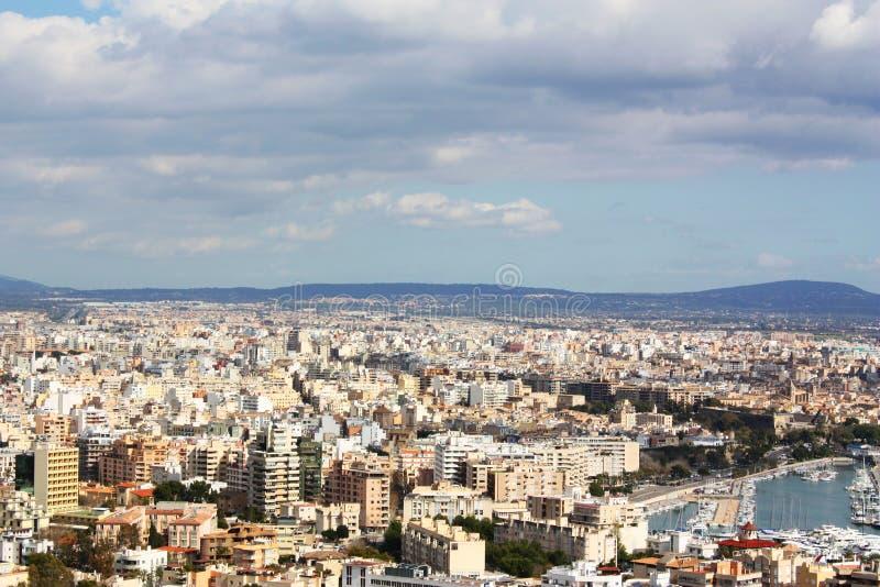Majorca cityscape royalty free stock photos