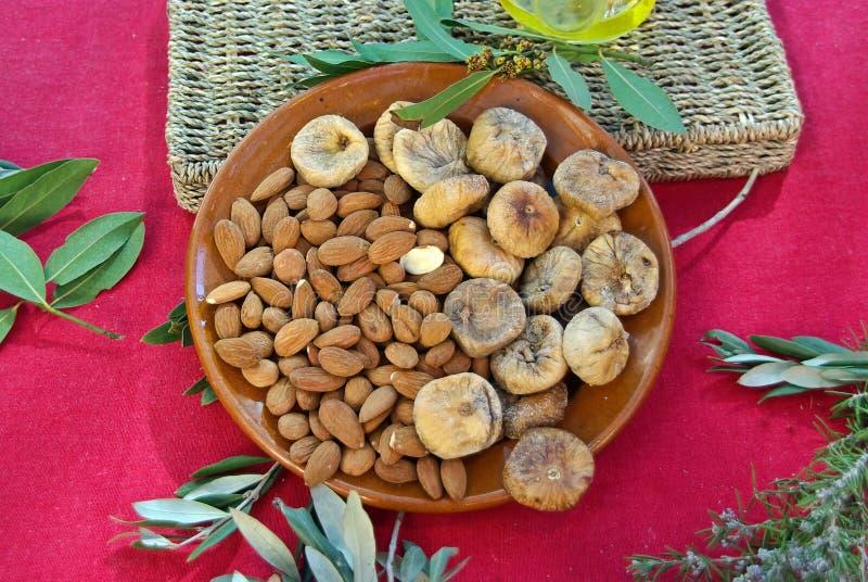Majorca Dry Fruits Royalty Free Stock Photography