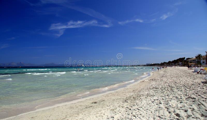 majorca el пляжа arenal стоковое изображение rf