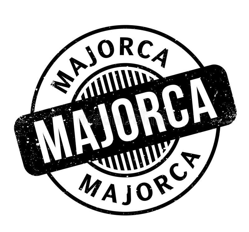 Majorca pieczątka royalty ilustracja