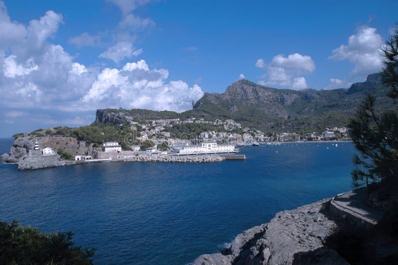 Majorca Puerto De Soller immagine stock