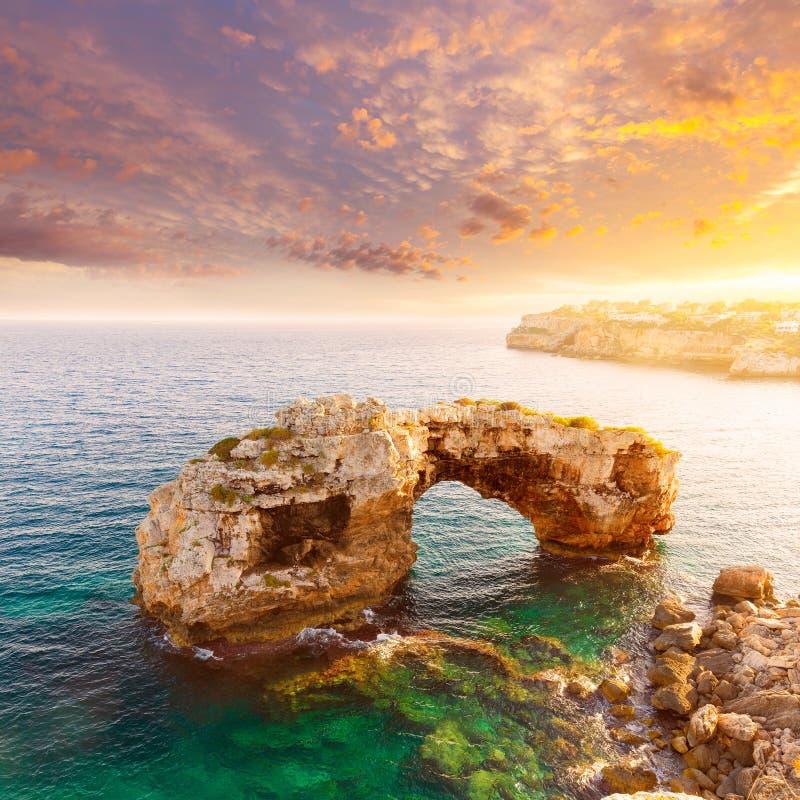 Majorca S Pontas in Santanyi in Mallorca Balearic royalty-vrije stock fotografie