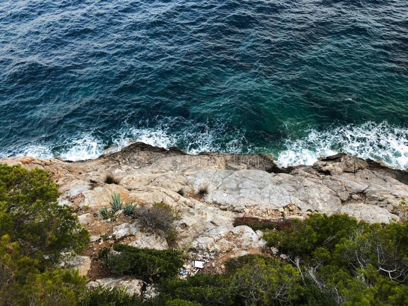 Majorcacala Bona de Zoon Servera Mallorca van de jachthavenhaven in de Balearen van Spanje stock afbeeldingen