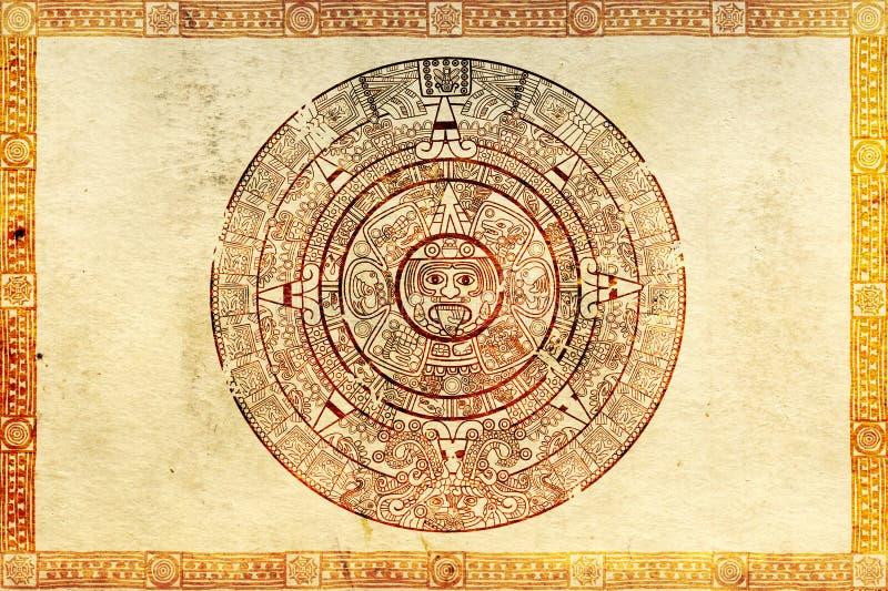 majowia proroctwo ilustracji